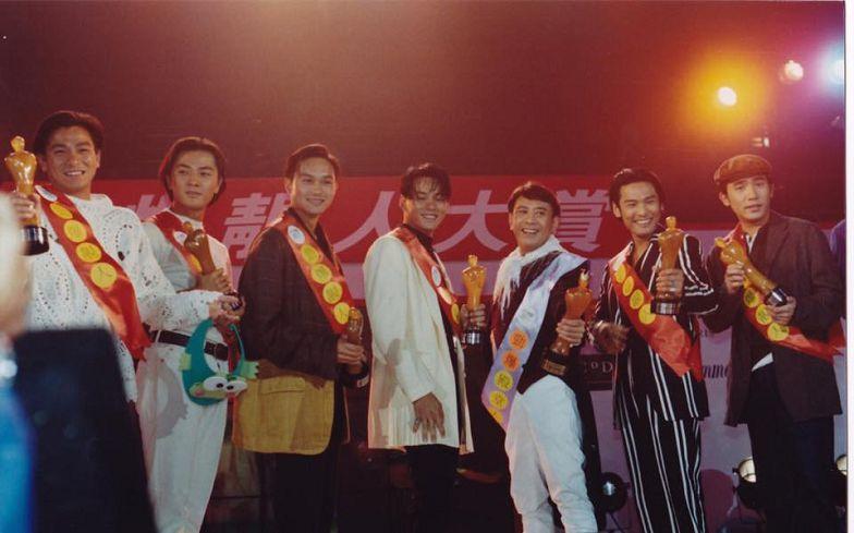 圖/杜德偉臉書 20年前劉德華、梁朝偉眾男神同框 網友:都沒變老!