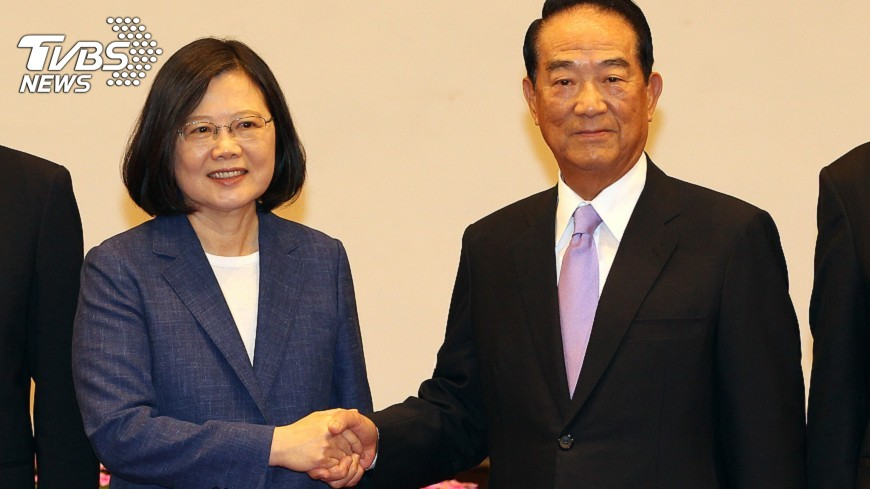 圖/中央社 APEC領袖代表英雄榜 刻劃兩岸歷史風雲