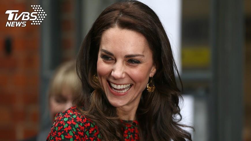 圖/達志影像路透社 肯辛頓宮:凱特王妃預產期2018年4月