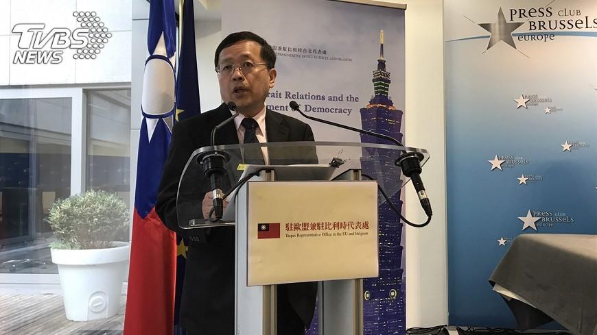 圖/中央社 回應中共19大  陸委會籲共尋互動新模式