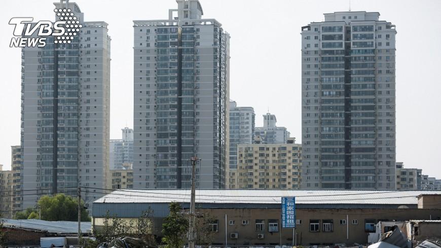 圖/達志影像美聯社 中共19大 基金業:陸房市泡沫風險仍可控