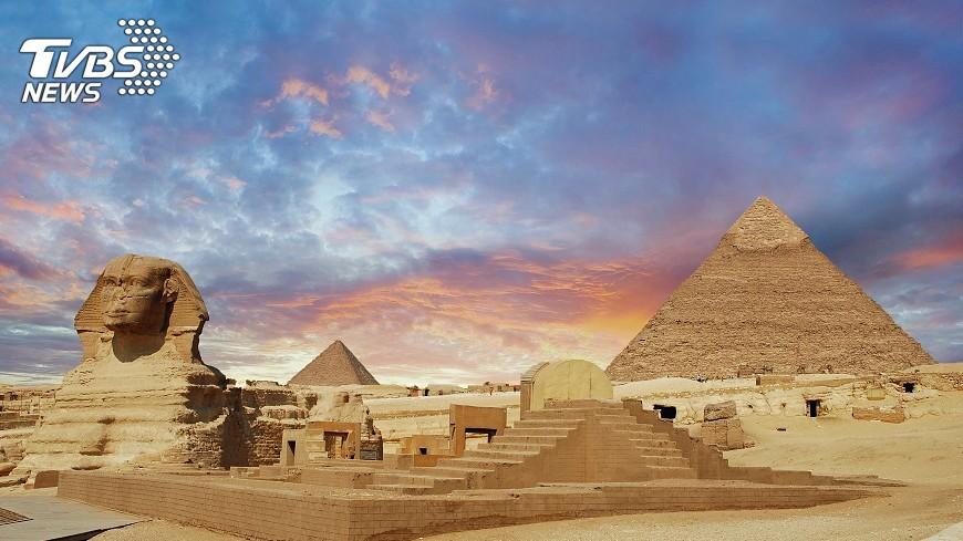 示意圖/TVBS 古埃及最後王朝覆滅 火山噴發疑是原因