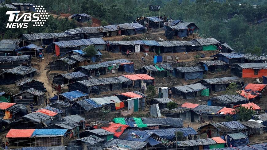 圖/達志影像路透社 洛興雅難民危機 美籲緬甸軍方負責