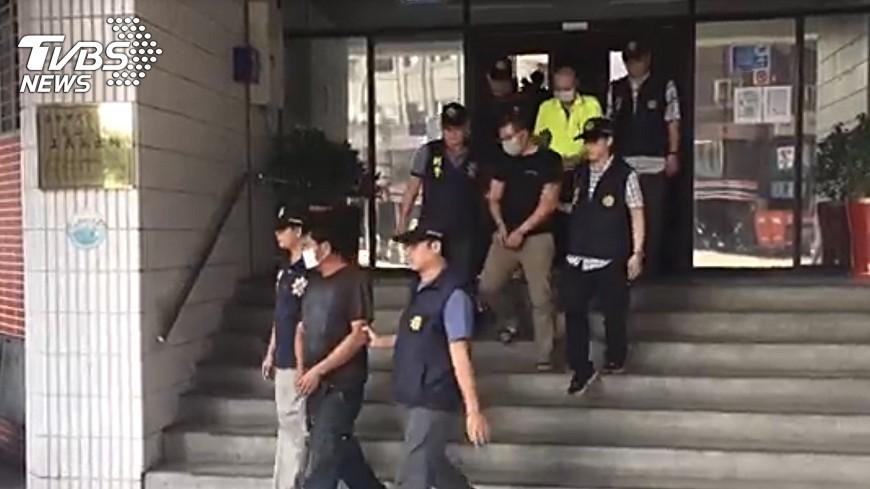 圖/中央社 假車輛失竊真詐保 警方耗時1年破案