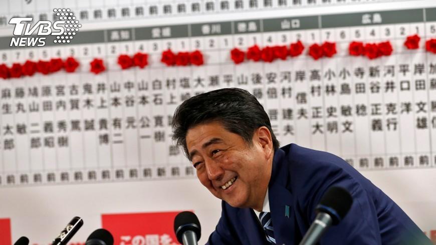 圖/達志影像路透社 日本11月1日開特別國會 選安倍續任首相