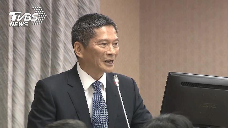 圖/中央社 李永得用客語報告遭阻 陳為廷怒批:戒嚴嗎