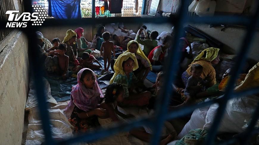 圖/達志影像路透社 多國解囊助洛興雅人 聯合國讚求說話算話