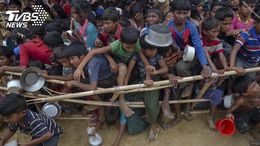 圖/達志影像美聯社 緬甸對待洛興雅人方式惹議 美考慮制裁