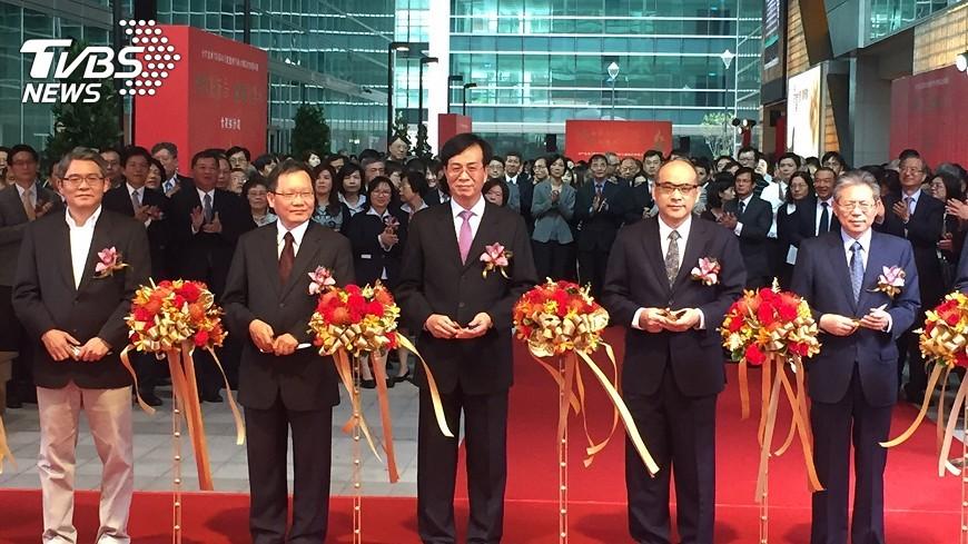 圖/中央社 合庫金新總部大樓 Gogoro包下5層當總部