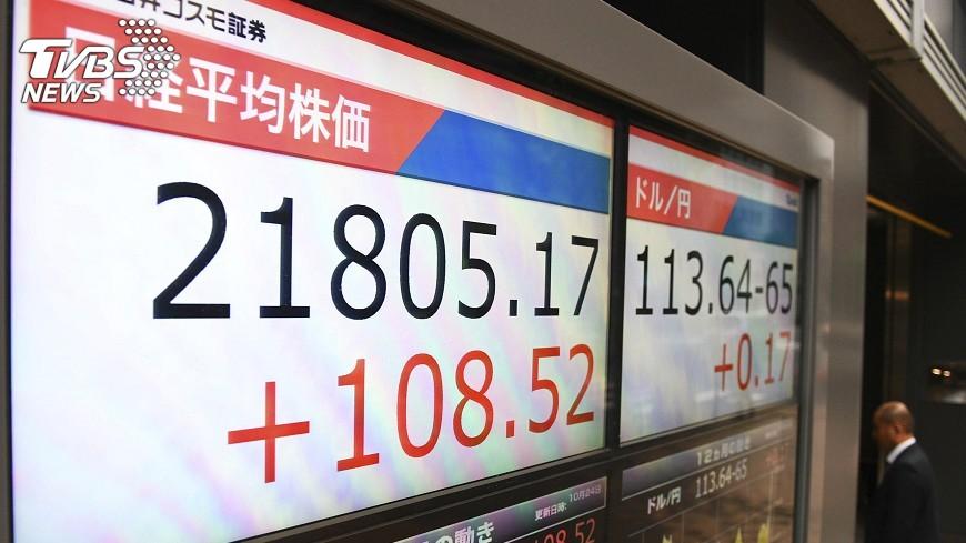 圖/達志影像美聯社 日經指數連16漲 續創最長連漲紀錄