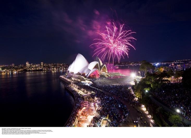 華航推出機票優惠,今年想去雪梨一睹跨年煙火將不是夢。
