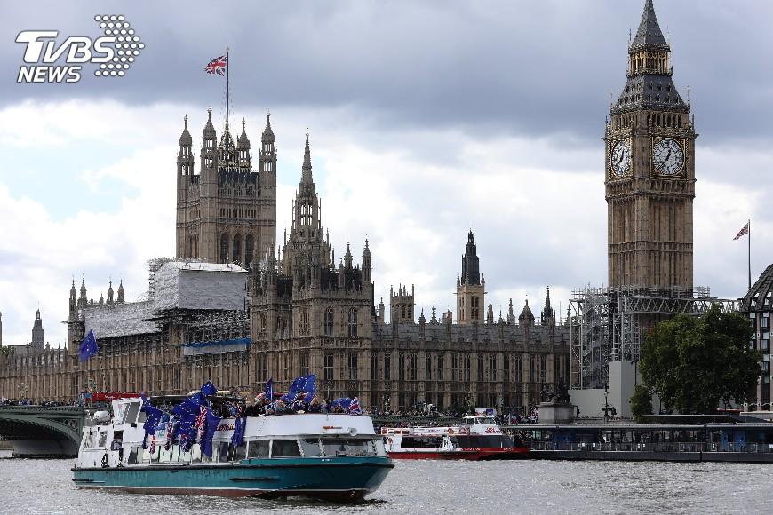 圖/達志影像路透社 彭博:脫歐後 倫敦仍為歐洲金融中心