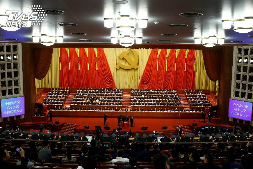 圖/達志影像路透社 中共1中全會登場 政治局常委將亮相