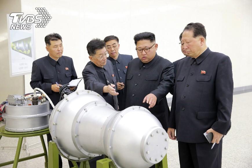 圖/達志影像美聯社 北韓警告最強氫彈試爆 不是說說而已