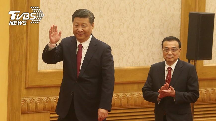 圖/中央社 習近平集權擴及經濟 李克強影響減