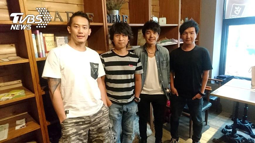 圖/中央社 四分衛將滿25年 老男孩繼續為歌迷而唱