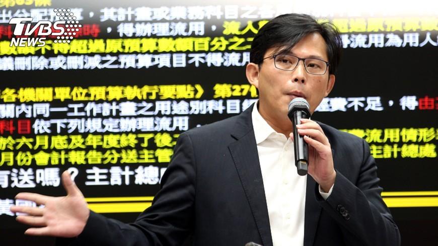 圖/中央社 黃國昌罷免案 國民黨:支持