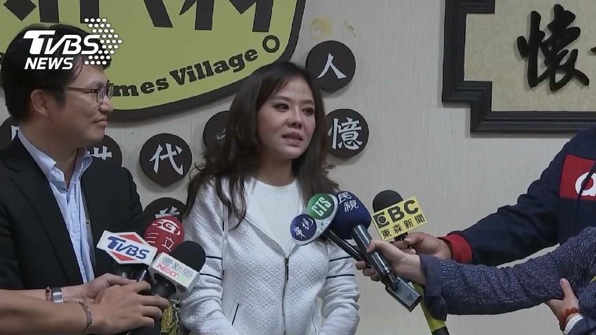 圖/TVBS 「一直想做好事」 小潘潘淚訴否認先生詐貸