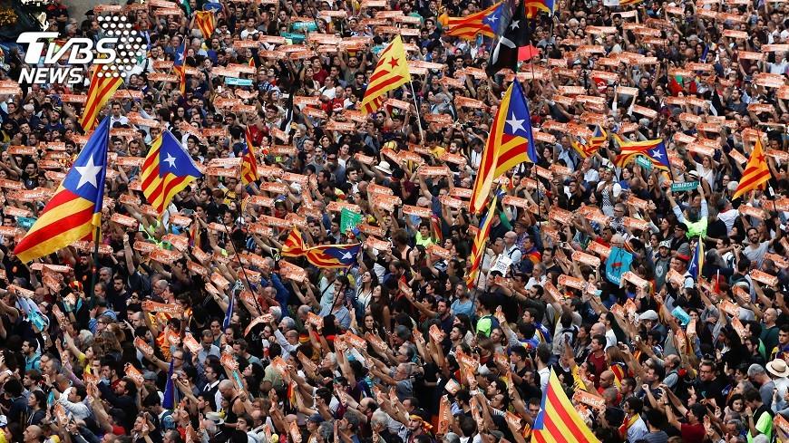圖/達志影像路透社 馬德里出狠招 開除加泰隆尼亞警察首長