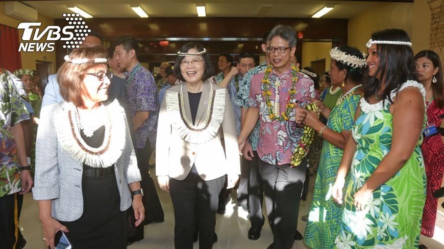 圖/中央社 台灣加入聯合國專門機構 馬紹爾總統支持