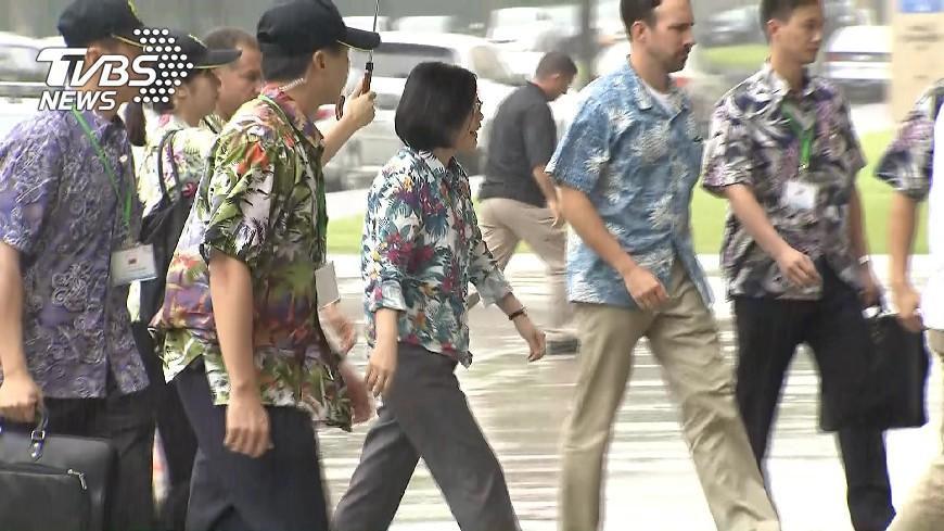 圖/TVBS 索羅門群島政局變 蔡總統訪問行程不變