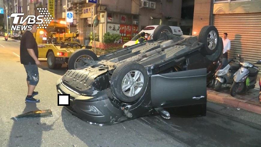 酒駕產生的交通事故頻傳!圖/TVBS資料畫面
