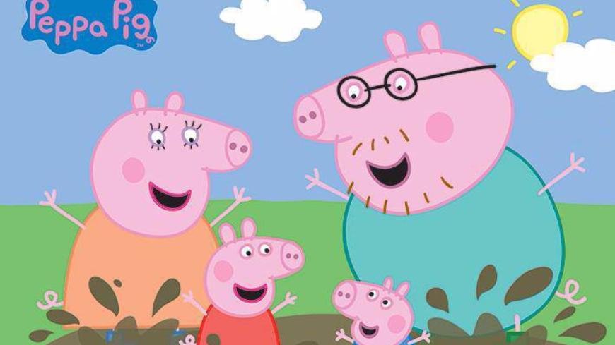 圖/取自Peppa Pig臉書、翻攝自微博 小孩天天學豬叫! 母崩潰勸世:別給他們看「佩佩豬」