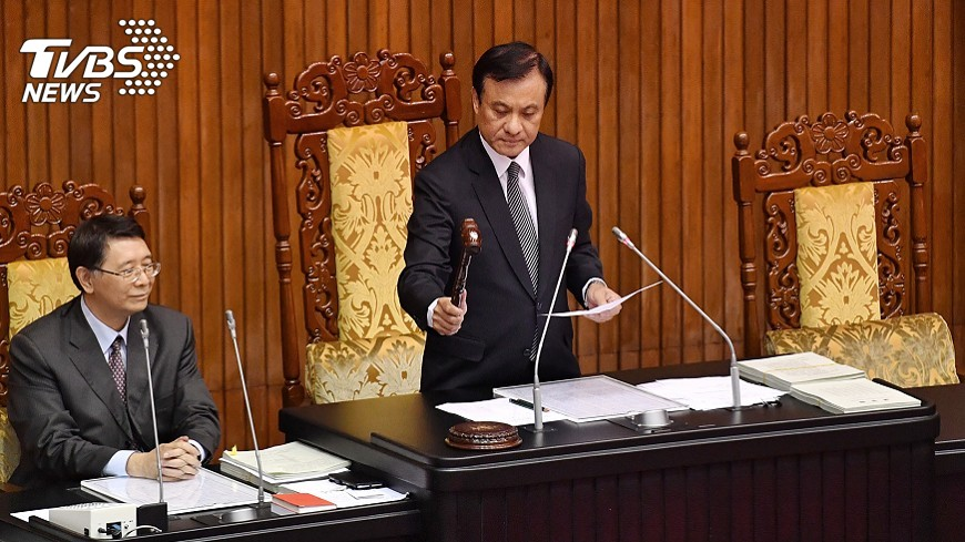 圖/中央社 有線電視播國會議事入法   立院三讀