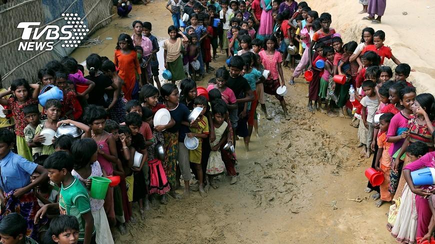 圖/達志影像路透社 讓洛興雅人回家 安理會籲緬甸約束軍方