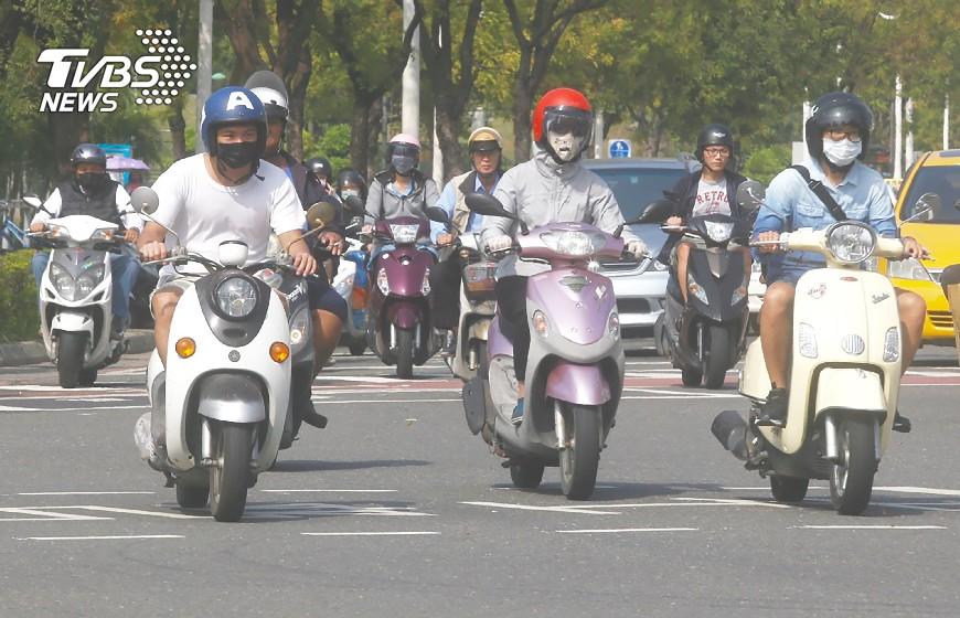 圖/中央社資料畫面 【大數聚】馬路有三寶,你不可不小心的機車「新」三寶!