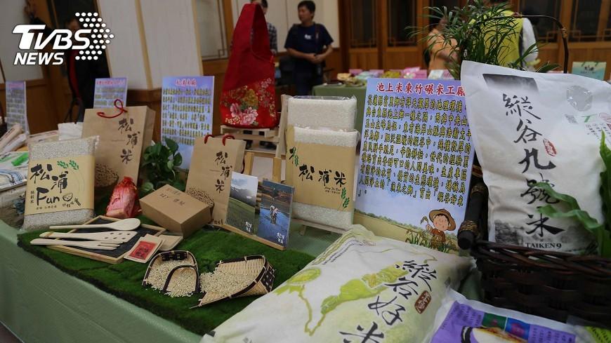 圖/中央社 稻米產銷契作 宜花東米打響知名度