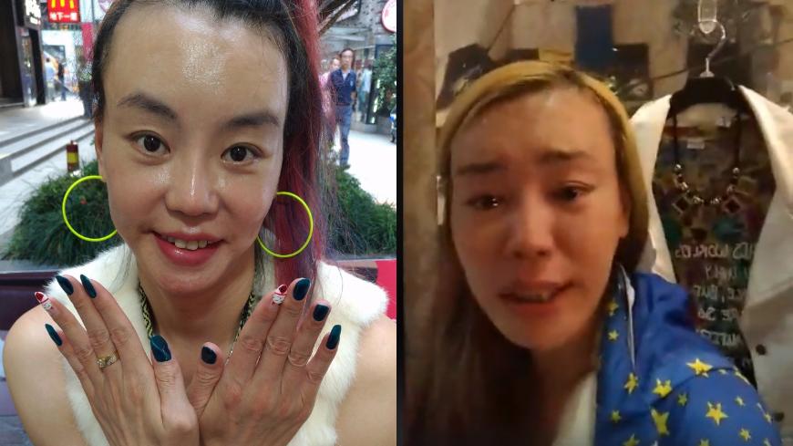 圖/翻攝自張婷婷臉書 餐車屢遭檢舉 法拉利姊爆哭怒譙網友「x拎娘」