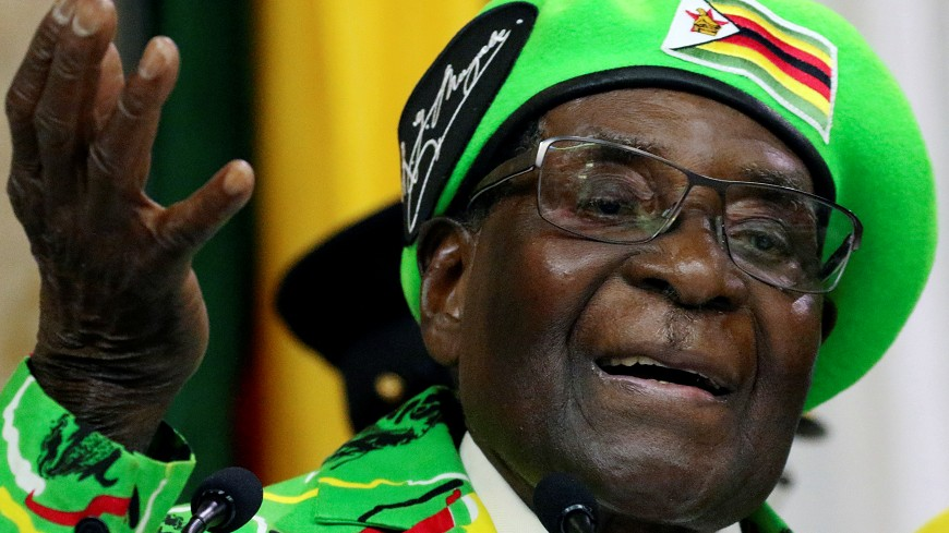 圖/達志影像路透社 辛巴威總統穆加比 驚人語錄聞名