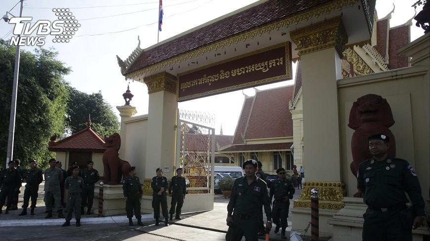 圖/達志影像美聯社 柬埔寨反對黨被判解散 美表達嚴重關切