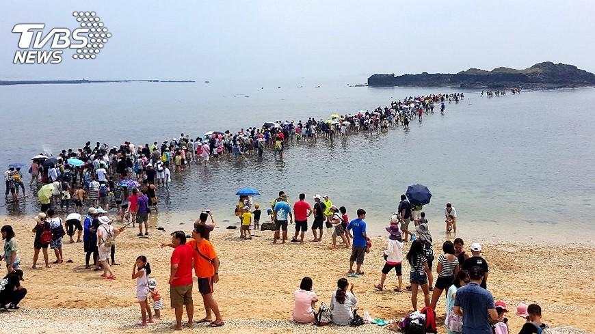 圖/中央社 冬遊澎湖有好康 觀光消費券21日起兌領