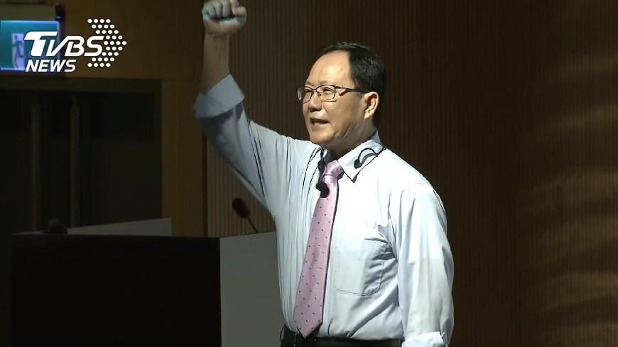 圖/TVBS資料畫面 媒體民調暫領先 丁守中:棄保是潛在變數