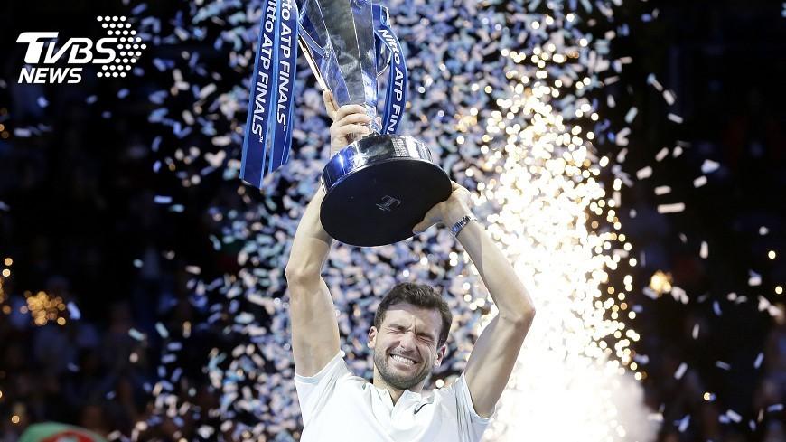 圖/達志影像美聯社 ATP年終賽 狄米特羅夫3盤力克高芬奪冠