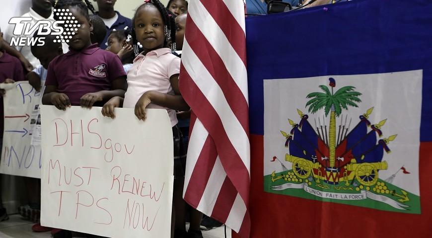 圖/達志影像美聯社 美不再保護  海地移民18個月後需走人