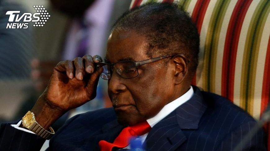 圖/達志影像路透社 穆加比拒下台 辛巴威國會將展開彈劾