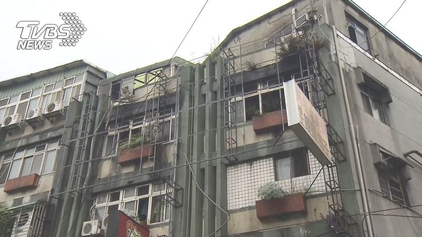 圖/TVBS 中和大火 新北將加強清查隔間套房