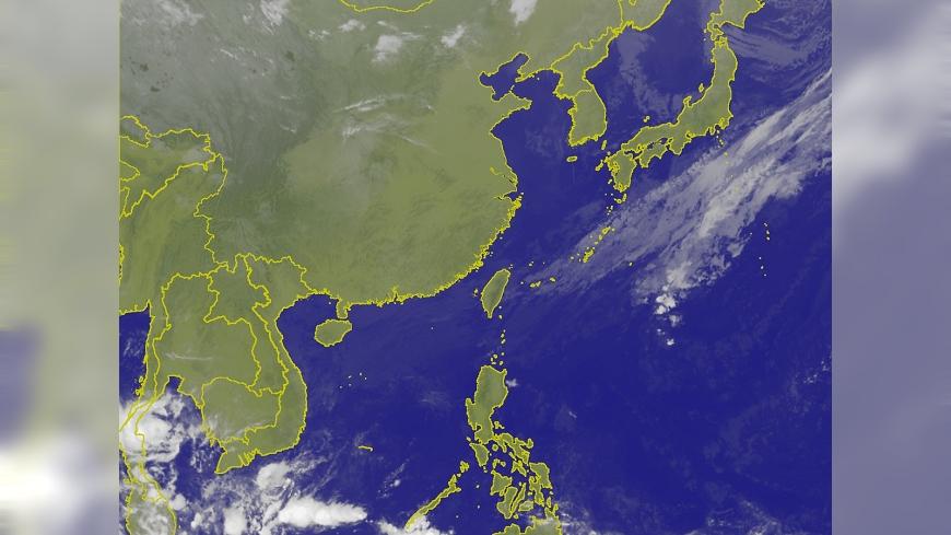 圖/翻攝自中央氣象局 秋老虎腳步近 明日大幅回暖上看31度