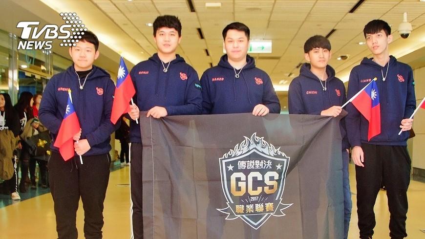 圖/中央社 2012年後首次 台灣電競選手勇奪世界冠軍