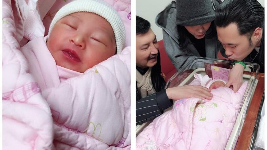圖/翻攝自余祥詮臉書 余天外孫女「小樂樂」超黏媽媽 出生就榮登「兩個第一」