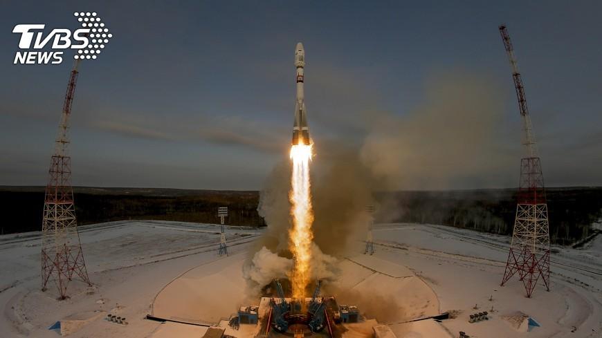 圖/達志影像美聯社 俄在遠東發射火箭 搭載氣象衛星