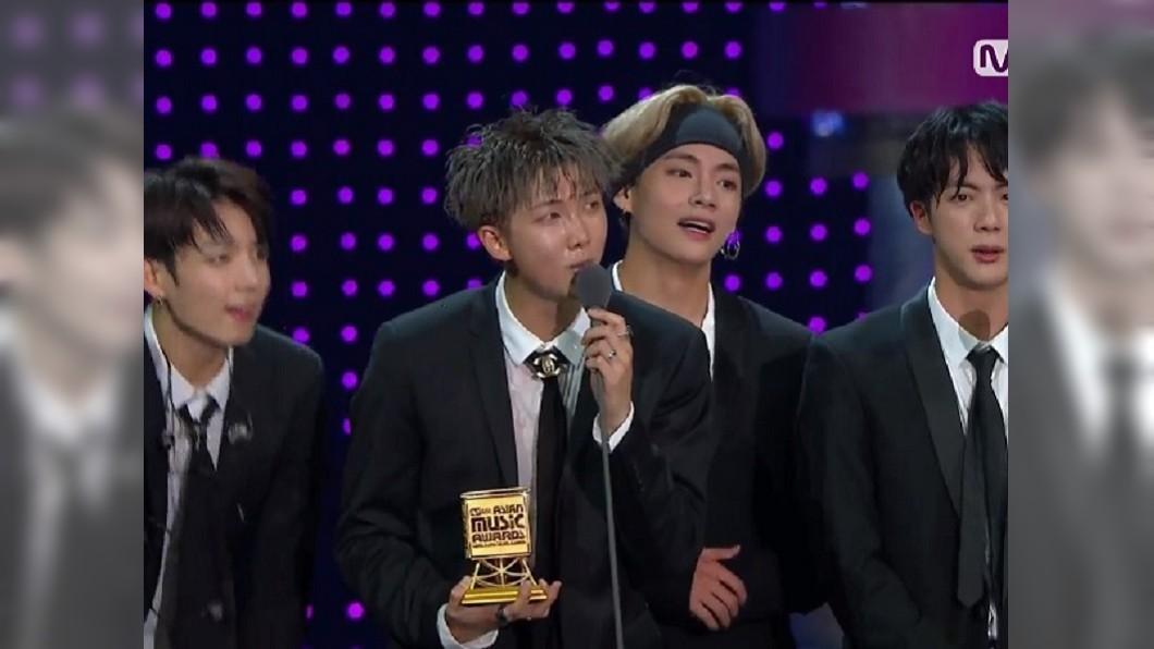 圖/Mnet K-POPYoutube MAMA/連兩屆奪「年度藝人」 BTS收穫最多