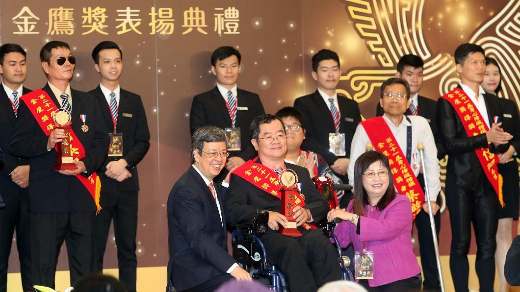 圖/中央社 身心障礙平權 陳副總統:企業大眾齊努力