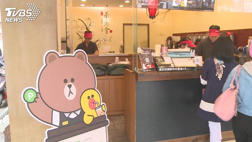 圖/TVBS 手搖飲業佈局海外 招牌飲品年賣500萬杯