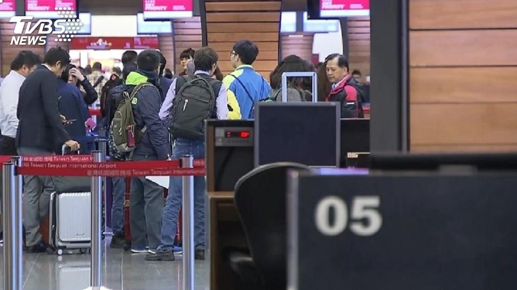 圖/TVBS 香港反送中桃機20航班受影響 乘客忙更改行程