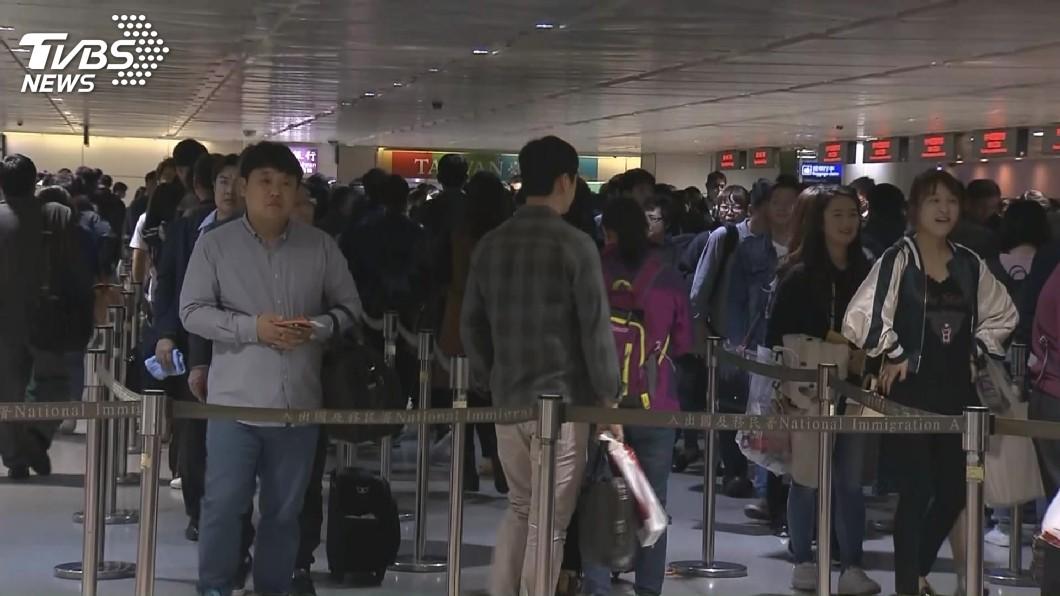 圖/TVBS 林佳龍:檢討擴大免簽範圍 爭取更多國際旅客