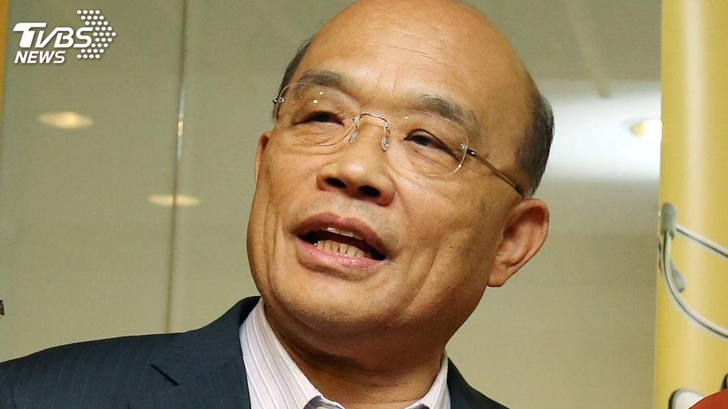 圖/中央社 新北市長選戰 民進黨選對會建議徵召蘇貞昌